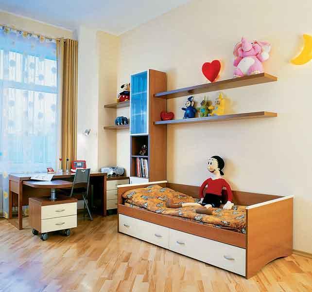 Результата при декорировании комнаты